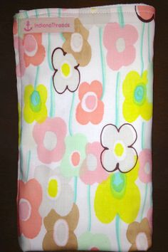 Natural Cotton Cloth Diaper or Burp Cloth, super absorbant! Made with a 6 ply natural cloth diaper and 100% Cotton Designer Fabric. Great for a baby shower gift or for your little bundle of joy! Wash on cold, dry on low heat to prevent shrinking.