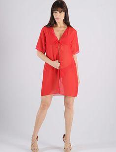 Robe em Chiffon - BI01 :: RMD Lingerie Robe em chiffon, rendas nas mangas, decote e na abertura. Uma peça super delicada e sensual. Ideal para noites especiais. Confeccionado com tecido 100% poliéster, tecido coma uma leve transparência. http://www.rmdlingerie.com.br/prod,IDLoja,8529,IDProduto,3903467,robe-robe-feminino-robe-em-chiffon---bi01