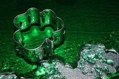 I made Shamrock Jell-O Jigglers for St. Green, Challenge, Photography, Blog, Photograph, Fotografie, Photoshoot, Blogging, Fotografia