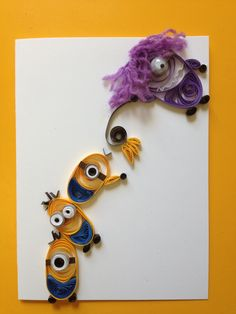 Minion card. Thanks for this pin, good card for all those little monsters I know.