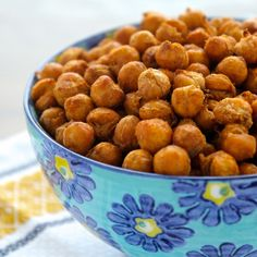 The Foodie Physician: Dining with the Doc: Crispy Spiced Chickpeas