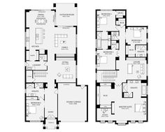 Bordeaux 50, Unit Floor Plans, Multi Dwelling House Plans - Metricon Homes - Melbourne