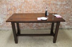 bar height farmhouse table - Yahoo Search Results