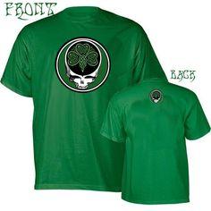 cf4313af Grateful Dead inspired Steal your Shamrock Celtic Knot T-shirt St Patrick's