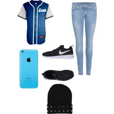 A fashion look from February 2015 featuring 7 For All Mankind jeans and NIKE sneakers. Browse and shop related looks.