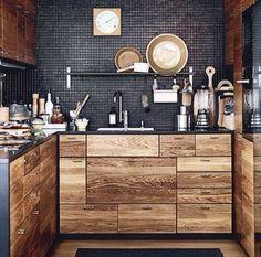 Mueblr de cocina madera