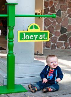 "Photo 2 of 15: Sesame Street / Birthday ""Joey's 1st Birthday""   Catch My Party"