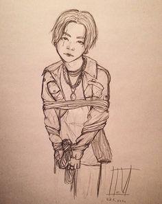 Suga from Bts Fan Art, Bts