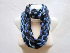 Scarf infinity  Necklace scarf  Colorful  winter  by nurlu on Etsy, $18.00