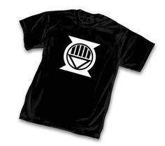 Black Lantern Hal Jordan Symbol T-Shirt