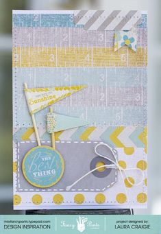Card by Laura Craigie using the Park Bench collection by Fancypantsdesigns.com