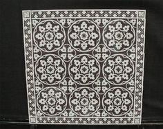 Boch 2   Portugese tegels, cementtegels 14x14 cm