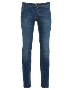 Jacob Cohën Jeans mit leichter Waschung - blau  Jetzt auf kleidoo.de bestellen!  #kleidoo #jeans #denim #jacobcohën fashion #style #men