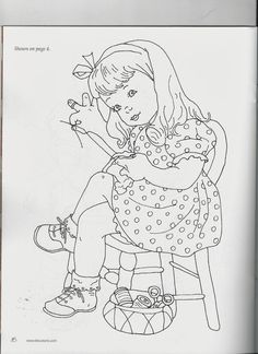 costurera-redwork.jpg (744×1024)