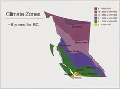 Climatic Zones - BC Building Code