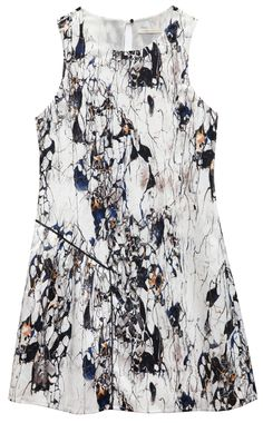 cooper & ella Tahlia Dress in marble print #cooperandella