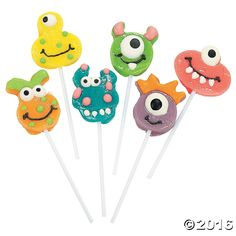 Goofy Monster Head Suckers - OrientalTrading.com
