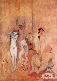 The Harem, 1906 - Pablo Picasso - WikiArt.org