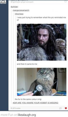Sir are you aware your hobbit is missing? This photo just became better.
