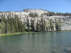 Weaver Lake - http://www.yelp.com/biz/weaver-lake-dunlap  located in the Jennie Lakes Wilderness, you can get a permit to camp overnight here and it's not that far of a hike (4-12 miles depending on route)