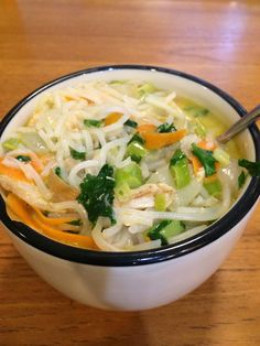 Nona Lim Recipes - Thai Curry Chicken Noodle Soup