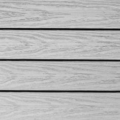 NewTechWood UltraShield Naturale 1 ft. x 1 ft. Outdoor Composite Quick Deck Tile in Icelandic Smoke White (10 sq. ft. per box) US-QD-ZX-SW at The Home Depot - Mobile