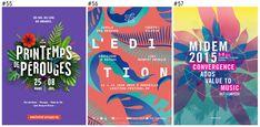 Les 100 plus belles affiches des festivals français en 2015