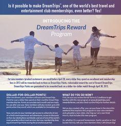 View the DreamTrips Reward Details. #dreamtripsreward #worldventures