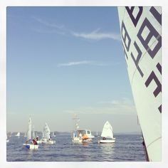 Just another regatta day! Optimist dinghy -  Guarapiranga São Paulo