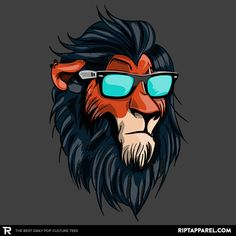 The Hipster King T-Shirt $11 Lion King tee at RIPT today only!