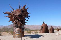 Borrego Springs, California's Secret Desert.
