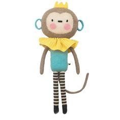 Hand-knit Dolls Baby Sleeping Doll – Monkey Knitted Dolls, Plush Dolls, Monkey Doll, Hand Knitting, Snoopy, Sleep, Hands, Baby, Character