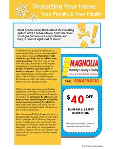 Protect your home, your family your health..  www.magnoliaphc.com