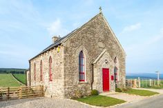 The Chapel by Evolution Design (1). A church conversion : The home is located in Middleton-in-Teesdale, England.