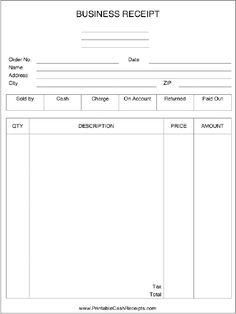 free printable sales receipts craft ideas pinterest free