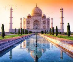 L'irréel Taj Mahal à Agra