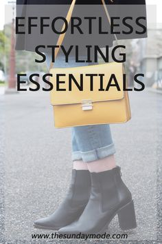 Effortless Styling Essentials | www.thesundaymode.com
