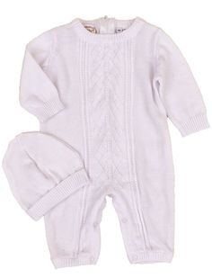 Korbyn Newborn Knit Christening Baptism Blessing Outfit for Boys