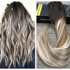 Piano Color Effect 100 Virgin Human Hair Wigs Good Quality