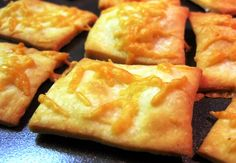 Savoury Butter Crackers Recipe by Laura Calder I have to warn you, these crackers will melt in your mouth and disappear quickly. I made th...