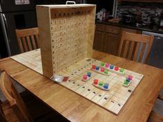 Battleshots Game Board.  I am going to make this.