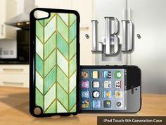 iPod Touch 5th Gen Case  Mint Green van LBCustomDesignsLLC op Etsy, $14.95