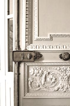 old French door with lock  | Traditional hardware | Home Decor | home decor hardware | Interior Design