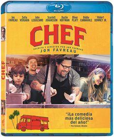 Chef [Vídeo-DVD] / escrita y dirigida por Jon Favreau