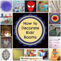 32 Kids' Bedroom Ideas: DIY Decorating for Boys, Girls, and Teens