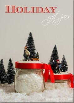 Mason Jar Holiday De