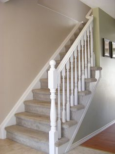 Painted staircase ideas, pattern, projects, inspiration, like books, banisters, blue, wood, victorian, yellow, home, front doors, awesome, style, ceilings, posts and hardwood stairs for your home decoration.