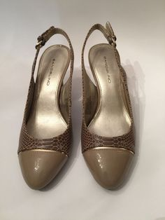 Bandolino Women's High Heels Sling-Back Pump Size 7 BDNEKESH #Bandolino #Slingbacks