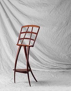 Music Stand Designer: Wharton Esherick (American, Date: design date 1951 Medium: Cherry wood Dimensions: 43 in. Studio Furniture, Wood Furniture, Furniture Design, Wharton Esherick, Music Stand, Mid Century Furniture, Architectural Elements, Art Decor, Home Decor