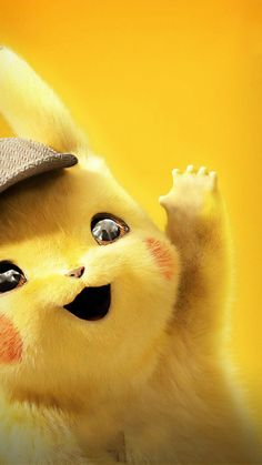 Pikachu Pokemon Detective Wallpaper for iPhone 7 Wallpapers Android, Hd Cool Wallpapers, Cute Cartoon Wallpapers, Animes Wallpapers, Pikachu Pikachu, O Pokemon, Pokemon Fusion, Pokemon Cards, Deadpool Pikachu